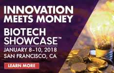 INNOVATION MEETS MONEY AT BIOTECH SHOWCASE EXCLUSIVE INVESTOR EVENT