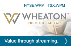 Wheaton Precious Metals - Value through streaming.