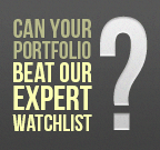 Can your portfolio beat our expert watchlist?