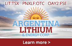 Learn More about Argentina Lithium and Energy Corp.