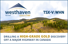 Learn More about Westhaven Gold Corp.